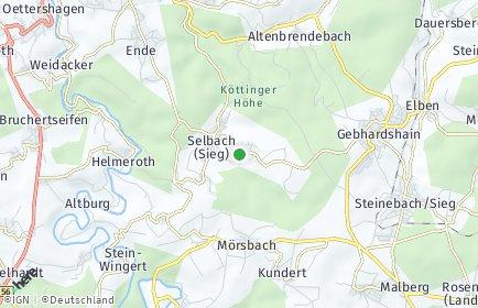 Stadtplan Fensdorf