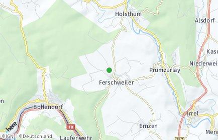 Stadtplan Ferschweiler