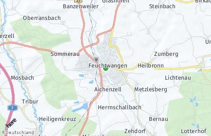 Stadtplan Feuchtwangen