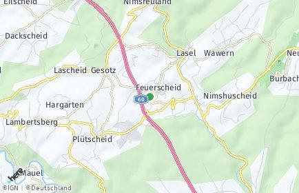 Stadtplan Feuerscheid