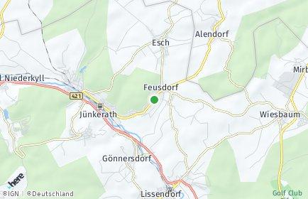Stadtplan Feusdorf