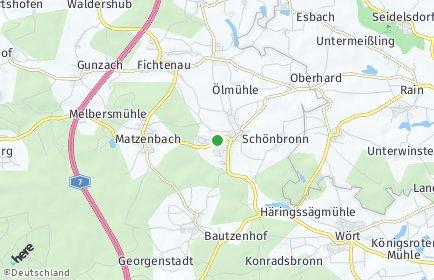 Stadtplan Fichtenau