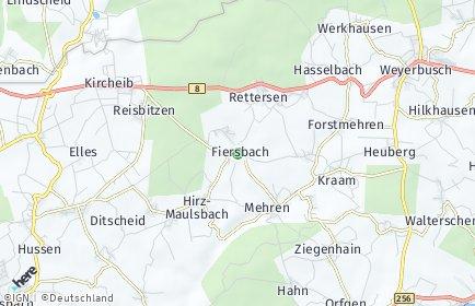 Stadtplan Fiersbach