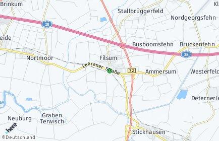Stadtplan Filsum