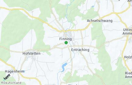 Stadtplan Finning
