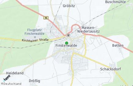 Stadtplan Finsterwalde
