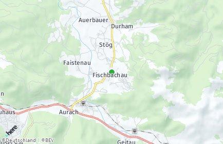 Stadtplan Fischbachau