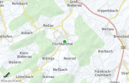 Stadtplan Fischbachtal