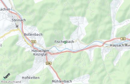 Stadtplan Fischerbach