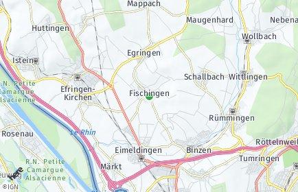 Stadtplan Fischingen (Baden)