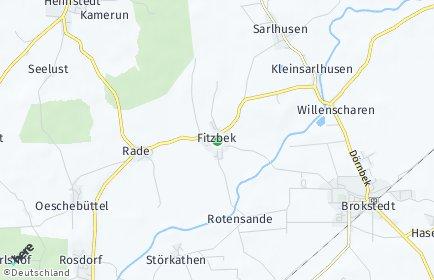 Stadtplan Fitzbek