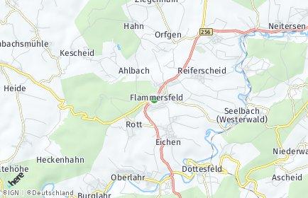 Stadtplan Flammersfeld