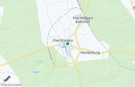 Stadtplan Flechtingen OT Hasselburg