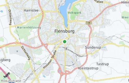Stadtplan Flensburg OT Weiche