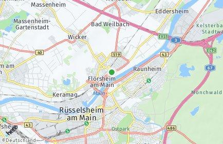 Stadtplan Flörsheim am Main