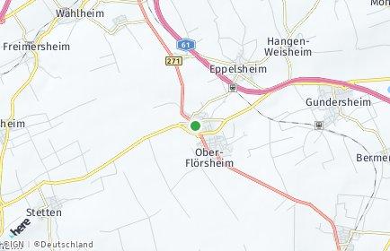 Stadtplan Flomborn
