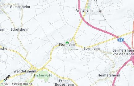 Stadtplan Flonheim