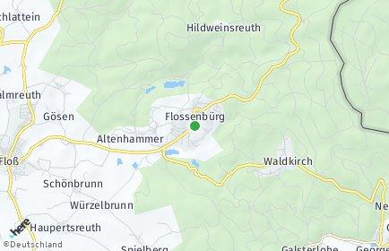 Stadtplan Flossenbürg