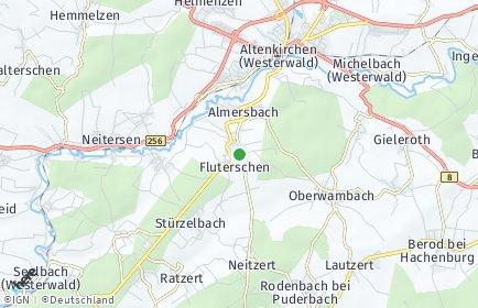 Stadtplan Fluterschen
