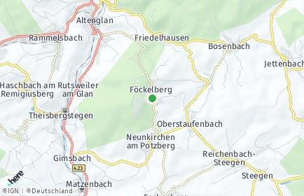 Stadtplan Föckelberg