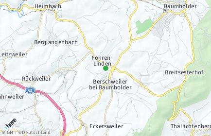 Stadtplan Fohren-Linden