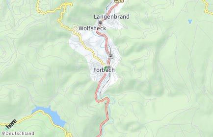 Stadtplan Forbach