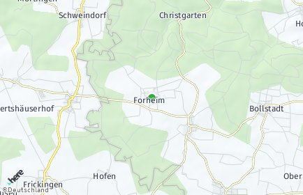 Stadtplan Forheim