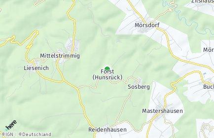 Stadtplan Forst (Hunsrück)