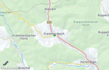 Stadtplan Frammersbach