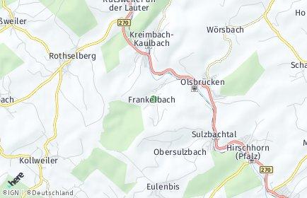 Stadtplan Frankelbach