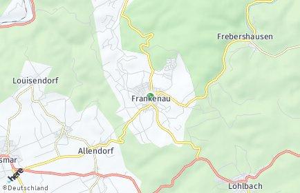 Stadtplan Frankenau