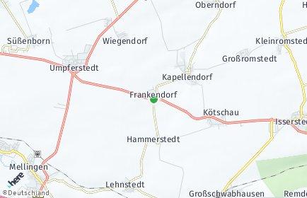 Stadtplan Frankendorf (Thüringen)