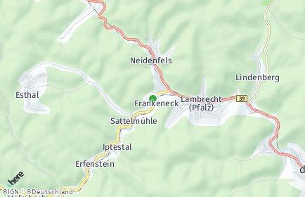 Stadtplan Frankeneck
