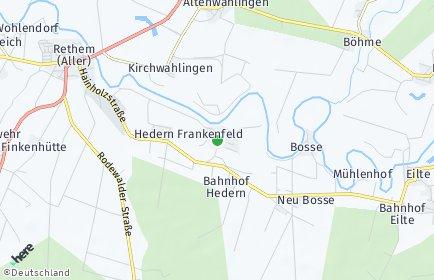 Stadtplan Frankenfeld