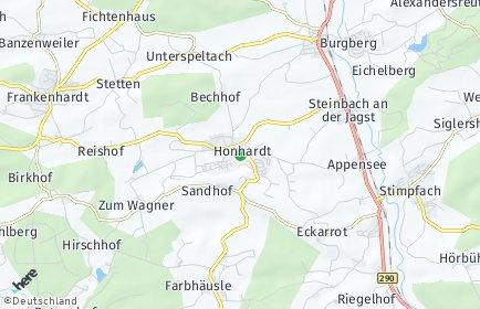 Stadtplan Frankenhardt