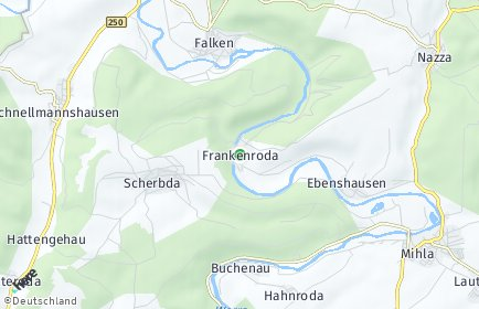 Stadtplan Frankenroda
