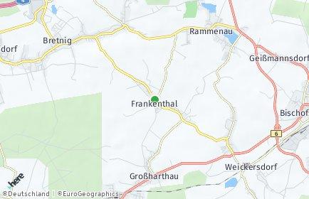 Stadtplan Frankenthal (Sachsen)