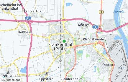 Stadtplan Frankenthal (Pfalz)