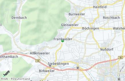 Stadtplan Frankweiler