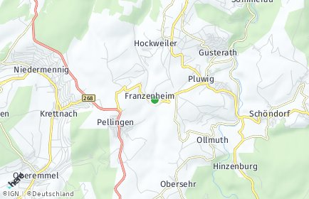 Stadtplan Franzenheim