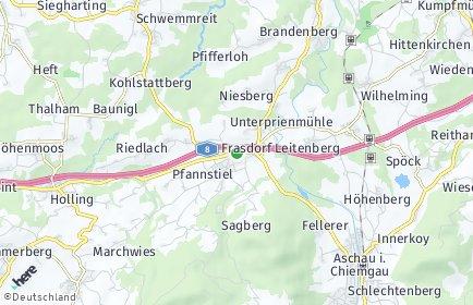 Stadtplan Frasdorf