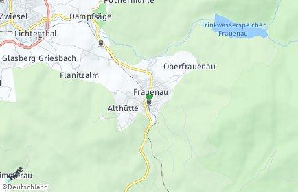 Stadtplan Frauenau