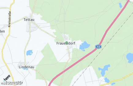 Stadtplan Frauendorf