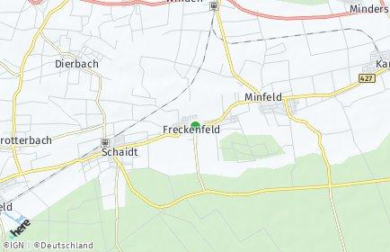 Stadtplan Freckenfeld