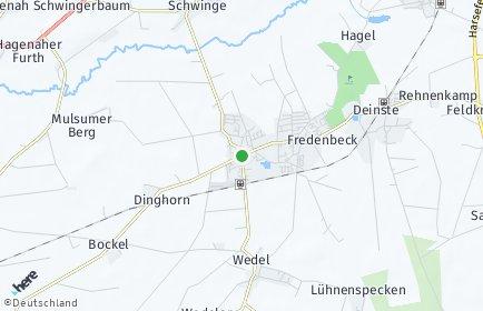 Stadtplan Fredenbeck