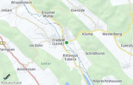 Stadtplan Freden (Leine)