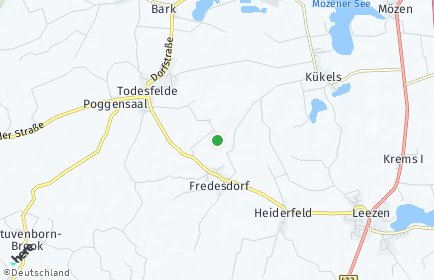 Stadtplan Fredesdorf