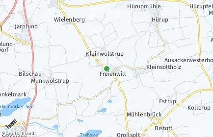 Stadtplan Freienwill