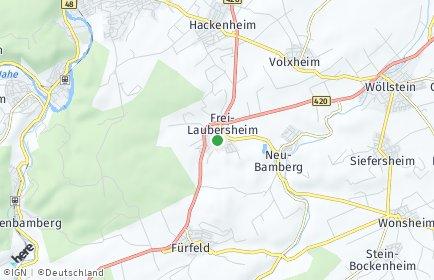 Stadtplan Frei-Laubersheim