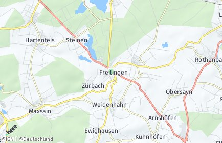 Stadtplan Freilingen